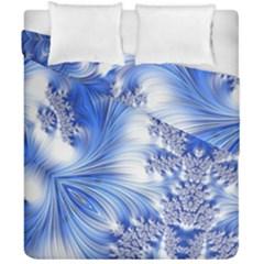 Special Fractal 17 Blue Duvet Cover (double Size)