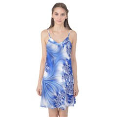 Special Fractal 17 Blue Camis Nightgown