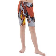 Special Fractal 24 Terra Kid s swimwear