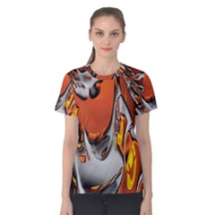 Special Fractal 24 Terra Women s Cotton Tees