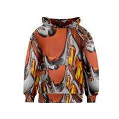 Special Fractal 24 Terra Kid s Pullover Hoodies