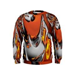 Special Fractal 24 Terra Boys  Sweatshirts