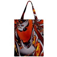 Special Fractal 24 Terra Zipper Classic Tote Bags