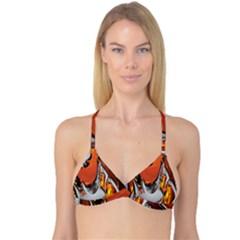 Special Fractal 24 Terra Reversible Tri Bikini Tops