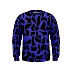 Purple holes  Kid s Sweatshirt