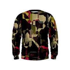 Techno puzzle  Kid s Sweatshirt