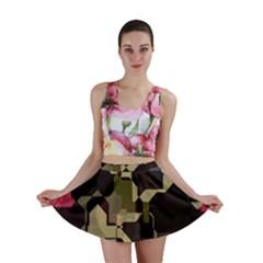 Techno Puzzle Mini Skirt