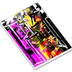 Abstract City View Large Memo Pads