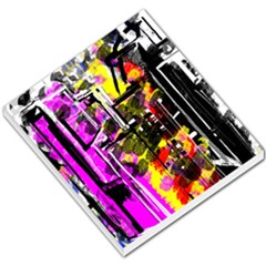 Abstract City View Small Memo Pads