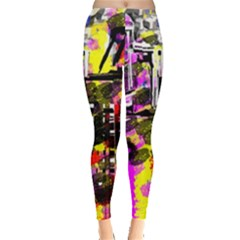 Abstract City View Women s Leggings