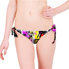 Abstract City View Bikini Bottoms