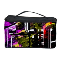 Abstract City View Cosmetic Storage Cases