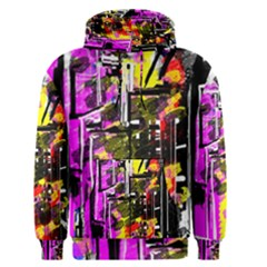 Abstract City View Men s Pullover Hoodies