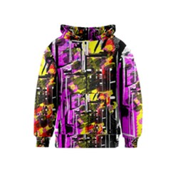 Abstract City View Kid s Pullover Hoodies