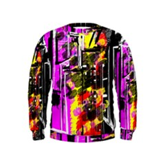 Abstract City View Boys  Sweatshirts