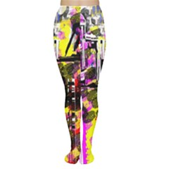 Abstract City View Women s Tights