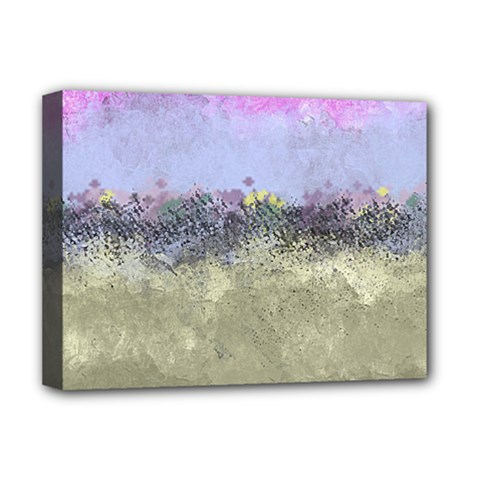 Abstract Garden In Pastel Colors Deluxe Canvas 16  X 12