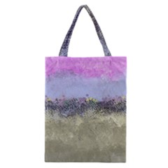 Abstract Garden in Pastel Colors Classic Tote Bags