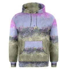 Abstract Garden In Pastel Colors Men s Pullover Hoodies