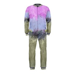 Abstract Garden In Pastel Colors Onepiece Jumpsuit (kids)
