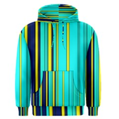 Hot Stripes Aqua Men s Pullover Hoodies