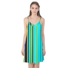 Hot Stripes Aqua Camis Nightgown