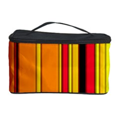 Hot Stripes Fire Cosmetic Storage Cases