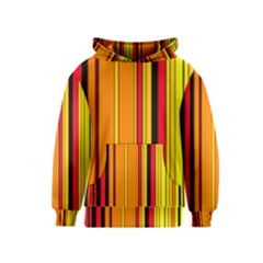 Hot Stripes Fire Kid s Pullover Hoodies