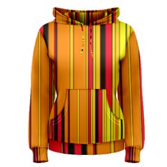 Hot Stripes Fire Women s Pullover Hoodies