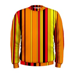 Hot Stripes Fire Men s Sweatshirts