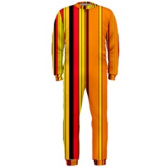 Hot Stripes Fire Onepiece Jumpsuit (men)