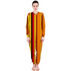 Hot Stripes Fire OnePiece Jumpsuit (Ladies)