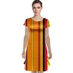 Hot Stripes Fire Cap Sleeve Nightdresses