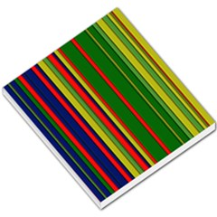 Hot Stripes Grenn Blue Small Memo Pads