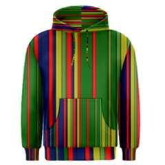 Hot Stripes Grenn Blue Men s Pullover Hoodies