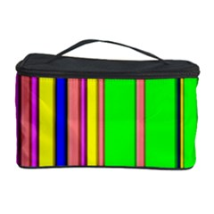 Hot Stripes Rainbow Cosmetic Storage Cases