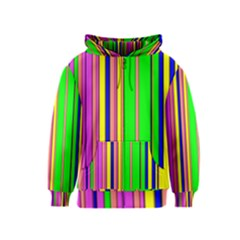 Hot Stripes Rainbow Kids Zipper Hoodies