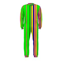 Hot Stripes Rainbow OnePiece Jumpsuit (Kids)