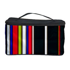 Hot Stripes Red Blue Cosmetic Storage Cases