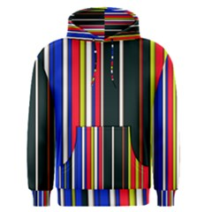 Hot Stripes Red Blue Men s Pullover Hoodies