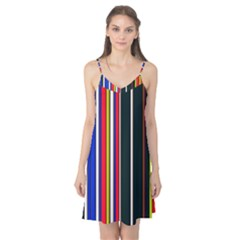 Hot Stripes Red Blue Camis Nightgown