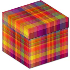 Plaid, Hot Storage Stool 12