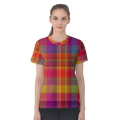 Plaid, Hot Women s Cotton Tees