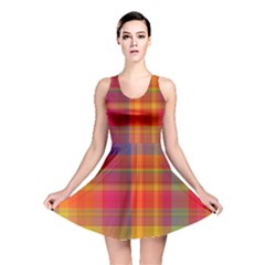 Plaid, Hot Reversible Skater Dresses