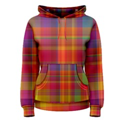Plaid, Hot Women s Pullover Hoodies