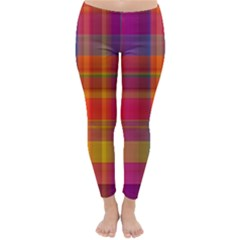 Plaid, Hot Winter Leggings