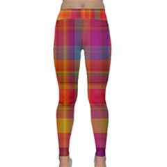 Plaid, Hot Yoga Leggings