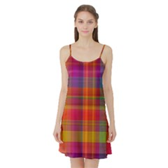 Plaid, Hot Satin Night Slip
