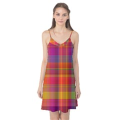 Plaid, Hot Camis Nightgown