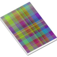 Plaid, Cool Large Memo Pads